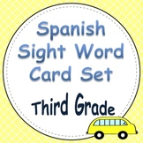 Spanish Sight Word Cards Third Grade