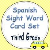 Spanish Sight Word Cards Third Grade