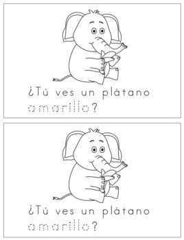 Spanish Reader - Amarillo