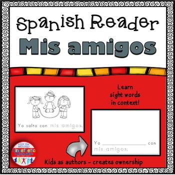 Spanish Reader - Mis amigos
