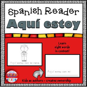 Spanish Reader - Aquí estoy