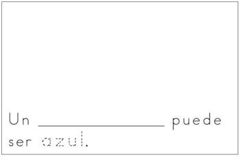 Spanish Reader - Azul