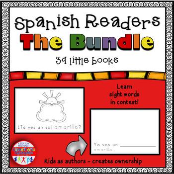 Spanish Readers - The Bundle