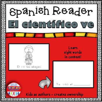 Spanish Reader - El científico ve