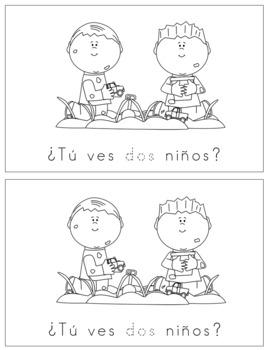 Spanish Reader - ¿Tú ves dos?