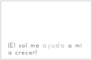 Spanish Reader - El sol ayuda