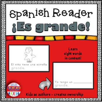 Spanish Reader - ¡Es grande!
