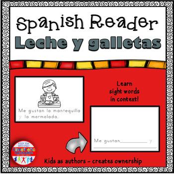 Spanish Reader - Leche y galletas