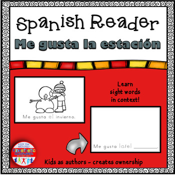 Spanish Readers - Me gusta la estación