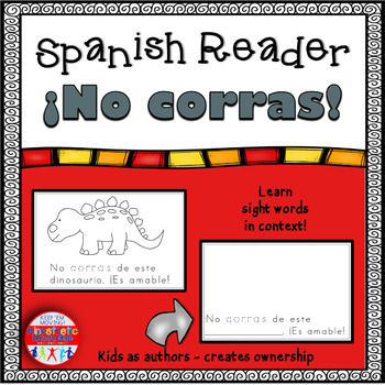 Spanish Reader -  ¡No corras!
