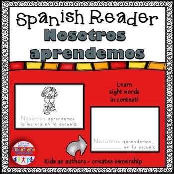 Spanish Reader - Nosotros aprendemos