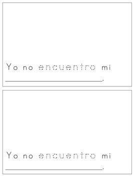 Spanish Reader - ¡No los encuentra!