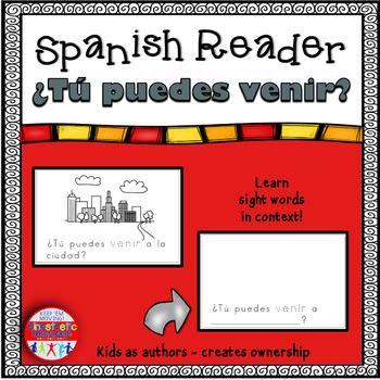 Spanish Reader - ¿Tú puedes venir?