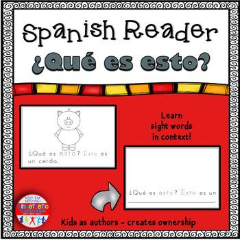 Spanish Reader - ¿Qué es esto?