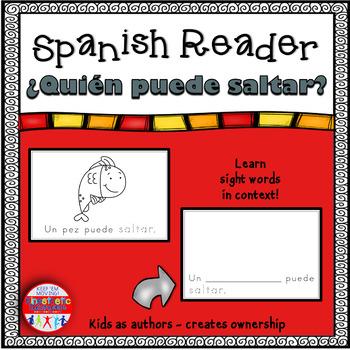 Spanish Reader - ¿Quién puede saltar?