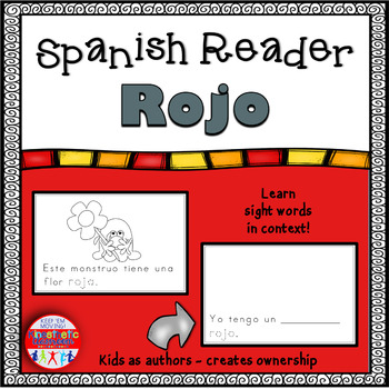 Spanish Reader - Rojo