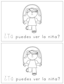 Spanish Reader -  ¿Tú puedes ver?