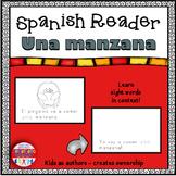 Spanish Reader - Una manzana