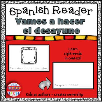 Spanish Reader - Vamos a hacer el desayuno
