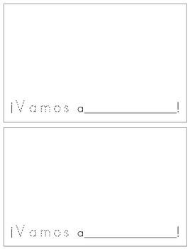 Spanish Reader - ¡Vamos!
