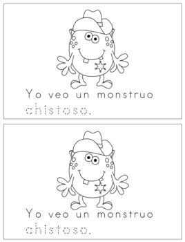 Spanish Reader - Monstruos Graciosos
