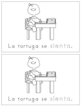 Spanish Reader - Se sienta