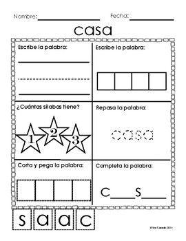 4 letter spanish words sight word worksheets 94 1 2 3 and 4 letter 20109