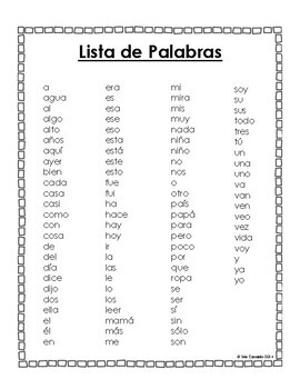spanish sight word worksheets 94 1 2 3 and 4 letter words. Black Bedroom Furniture Sets. Home Design Ideas