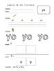Spanish Sight Word Worksheets K (Set 1)