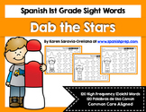 Spanish Sight Words Dab the Stars (1st Grade)