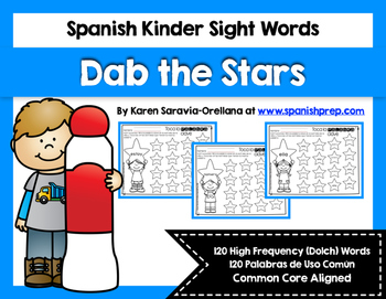 Spanish Sight Words Dab the Stars (Primer)