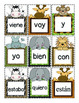 Spanish Sight Words Go Fish or Memory Game (Animal Themed)