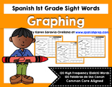 Spanish Sight Words Graphing (1st Grade)