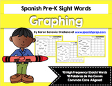 Spanish Sight Words Graphing Bundle