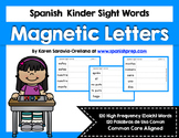 Spanish Sight Words Magnetic Letters Mats (Primer)