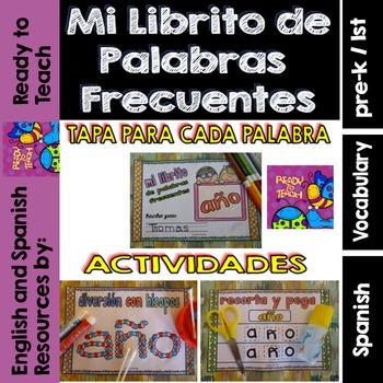 Spanish Sight Words Mini Booklet: AGUA