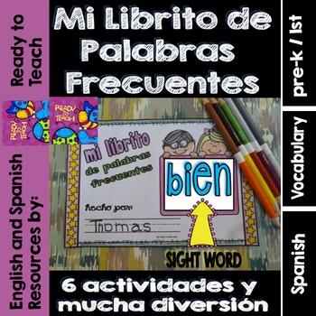 Spanish Sight Words Mini Booklet: BIEN