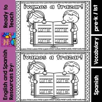 Spanish Sight Words Mini Booklet: CORRER