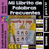 Spanish Sight Words Mini Booklets: SET 1 (10 Words)
