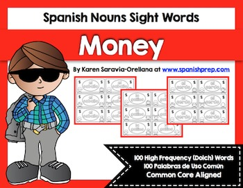 Spanish Sight Words Money Bundle