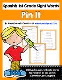 Spanish Sight Words Pin It (1st Grade)