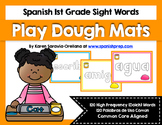 Spanish Sight Words Play Dough Mats (1st Grade)