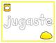 Spanish Sight Words Play Dough Mats (1st Grade)