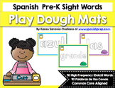 Spanish Sight Words Play Dough Mats Bundle