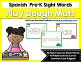 Spanish Sight Words Play Dough Mats (Pre-Primer)