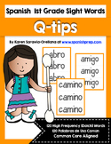 Spanish Sight Words Cotton Swab Printable (1st Grade)