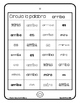 Spanish Sight Words Paper Tablets (Pre-Primer)
