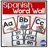 Spanish Sight Words Word Wall