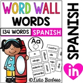 Spanish Word Wall Words