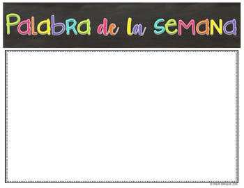 Spanish Signs {FREEBIE}
